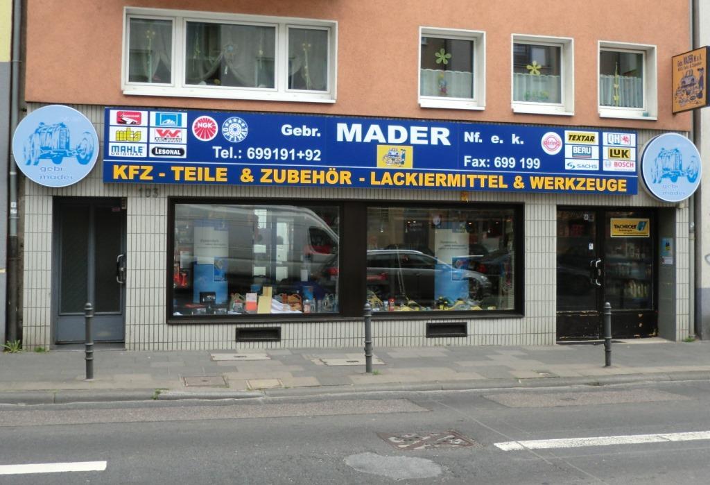 Gebr. Mader - Autoteile und Zubehör